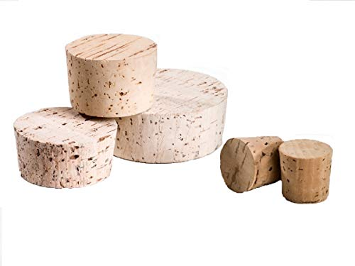 1 Fasskorken 75 x 60 mm, Höhe 32 mm Spund Korken Naturkork. Ideal für Weinfässer, Mostfässer, Ballonflaschen, Korbflaschen oder als Verschluss für andere Glas-Gefäße. Hobby Winzer, Bastel Bedarf, kreative Ideen