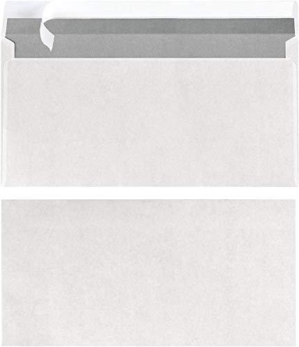 Herlitz Briefumschläge DIN lang haftklebend ohne Fenster weiss Inh. 25 Stück