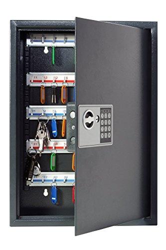 Pavo 8033911 Schlüssel-Kasten/Schrank/Tresor, High security mit elektronische...
