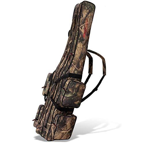 Angel Tasche Futteral Rutentasche Fishing Rucksack in verschiedenen Größen und Farben
