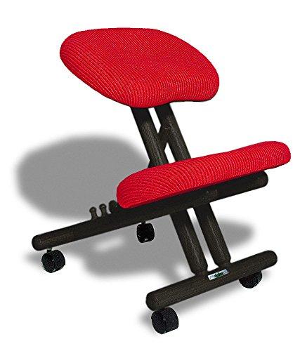 Kniestuhl für rückenschonendes Arbeiten verschiedene Farben im Angebot