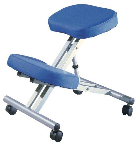Alsapan Ergo 91537 Bürostuhl, ergonomisch, 58 x 47 x 60 cm, Blau