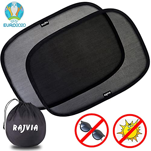 Rajvia Sonnenschutz Auto,Sonnenschutz Auto Baby,mit Zertifiziertem UV Schutz,Auto...