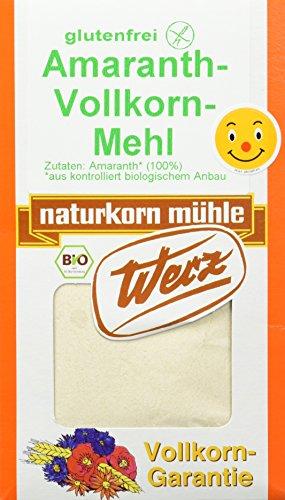 Werz Amaranth-Vollkorn-Mehl ohne Gluten 1er Pack
