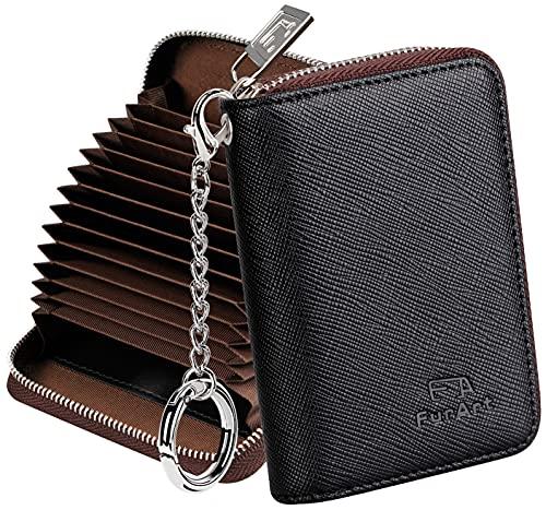 FurArt Kreditkartenetui für Damen und Herren, RFID Schutz,...