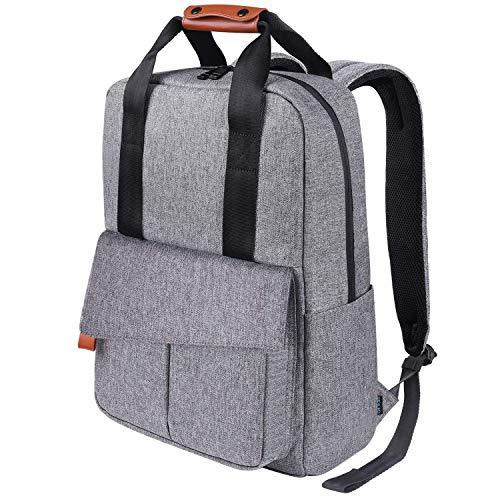 REYLEO Reise Laptop Backpack mit Türkis-Futter und 15.6″ Laptoptasche