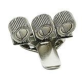 Drei Stifthalter aus Metall mit Taschen-Clip