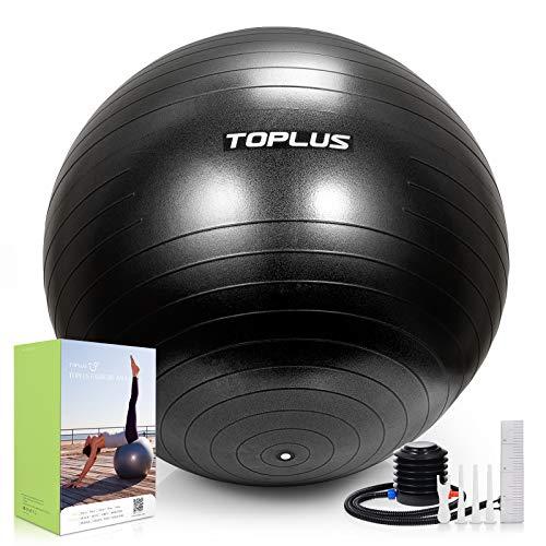 Gymnastikball Sitzball Extra dicker Yoga-Ball-Stuhl, Anti-Berst-Stabilitätsball für...