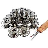 Nähmaschinenspulen aus Metall für AEG, Singer, Pfaff und weitere Marken