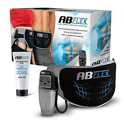 ABFLEX Toning Belt für schlank getönte Bauchmuskeln mit handlicher Fernbedienung