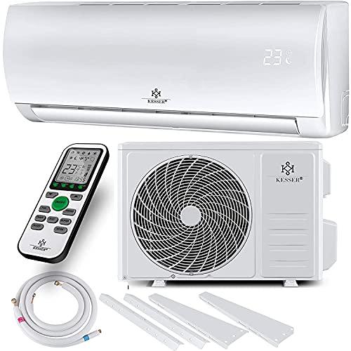 KESSER® Klimaanlage SET Split - mit WiFi/App Funktion Klimagerät - Kühlen A++/...