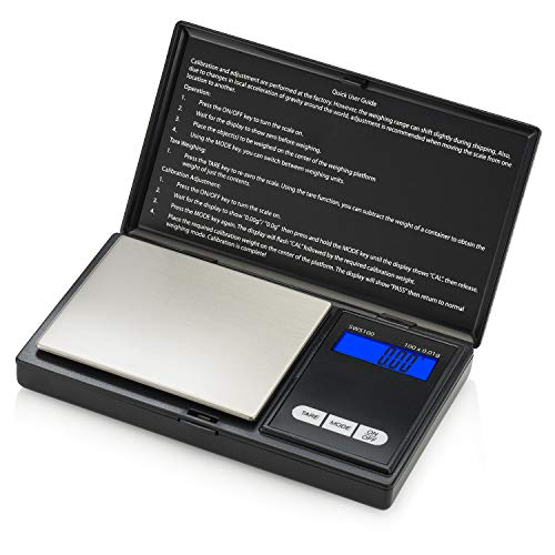 Smart Weigh SWS 100 Taschenwaage mit LCD-Anzeige und mit hoher Präzision