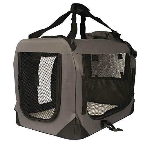 Timbo Hundebox/Katzenbox Leila S - Maße: 50x35x35 cm - Tragetasche für Katzen & Hunde, Transportbox, Hundetransportbox