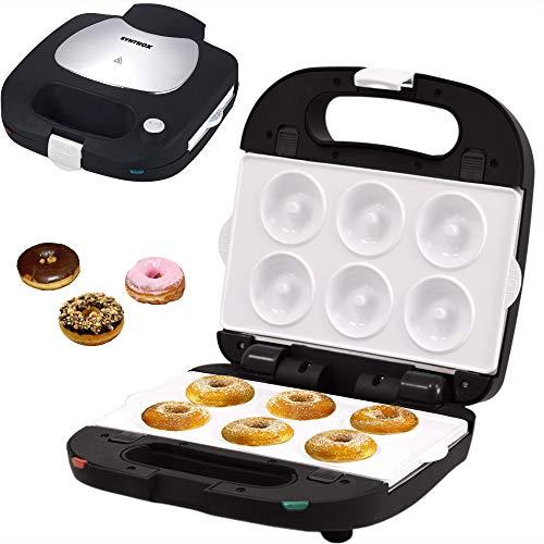 Syntrox Germany Donutmaker Waffeleisen mit keramisch beschichteten Backplatten SM-1500W