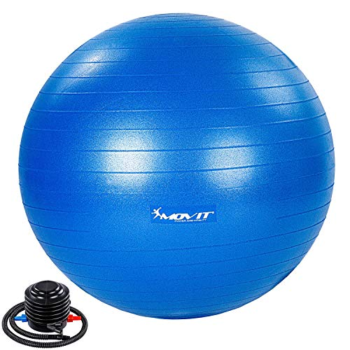 Gymnastikball inklusive Pumpe in sieben verschiedenen Farben